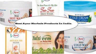 10 bästa Ayur Herbals produkter som finns i Indien