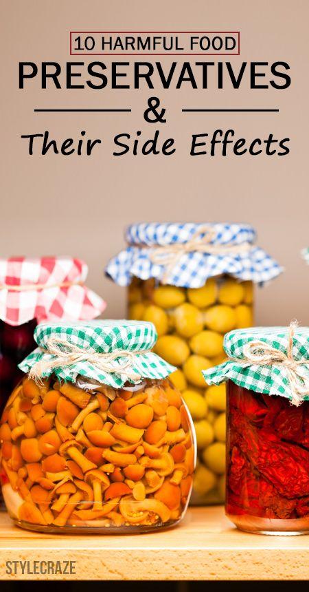 10 Skadliga konserveringsmedel för livsmedel och deras biverkningar