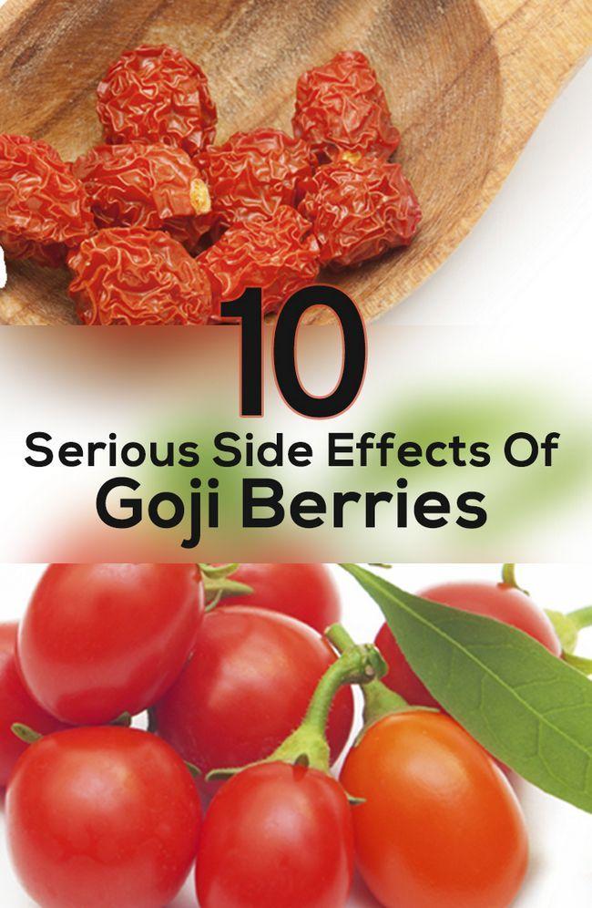 10 Allvarliga biverkningar av gojibär