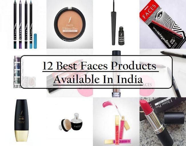 12 Bästa ansikten kosmetiska produkter i Indien