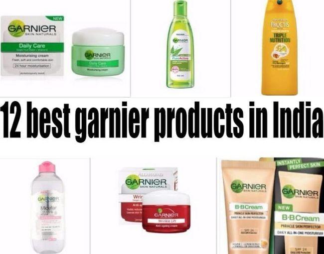 12 Bästa garnier produkter i Indien: hud, hår
