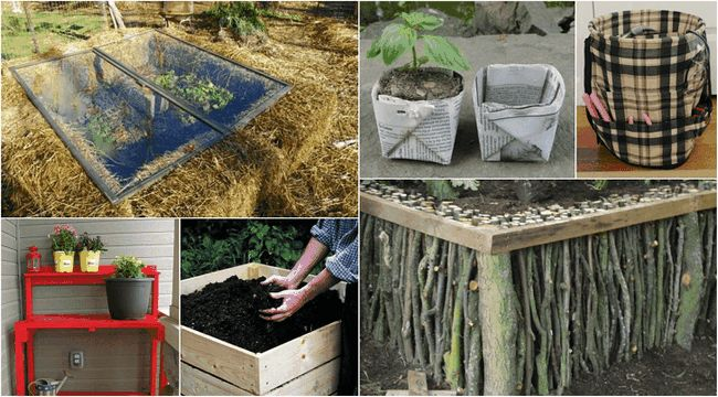 15 Måste se DIYs att få din trädgård redo för våren