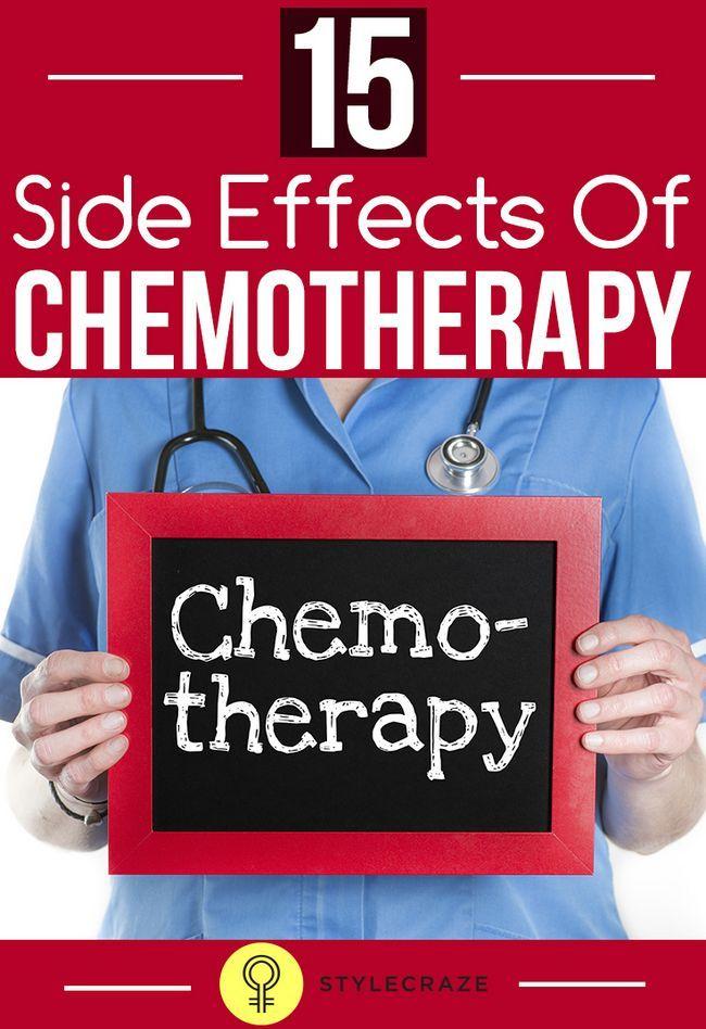 15 Allvarliga biverkningar av kemoterapi