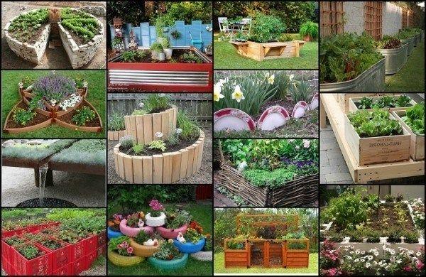 20 unika och roliga upphöjd trädgård säng idéer