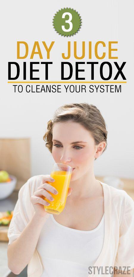3 Dag juice detox diet för att rengöra ditt system