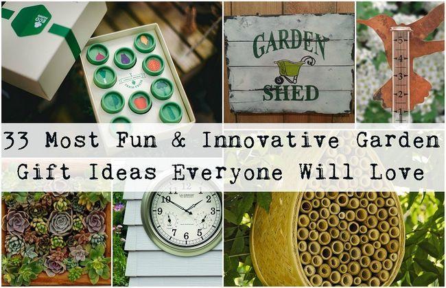 33 Mest roliga och innovativa trädgård gåva idéer varje trädgårdsmästare kommer att älska