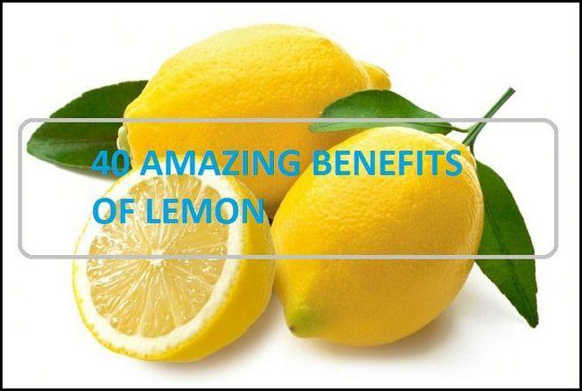40 fantastiska fördelar och användningsområden citronsaft och citronvatten