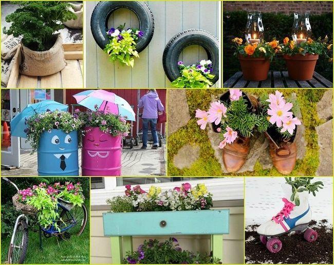 40 Uppfinnings diy trädgård plantageägarna som kommer att förvandla din trädgård