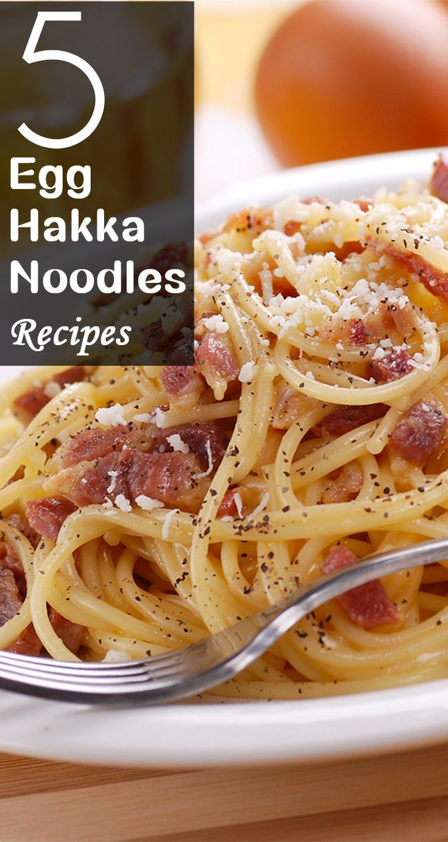5 Egg Hakka nudlar recept för att retas dina smaklökar