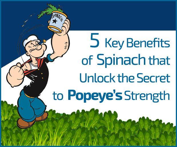 5 Viktiga fördelar av spenat som låser upp hemligheten till popeye styrka