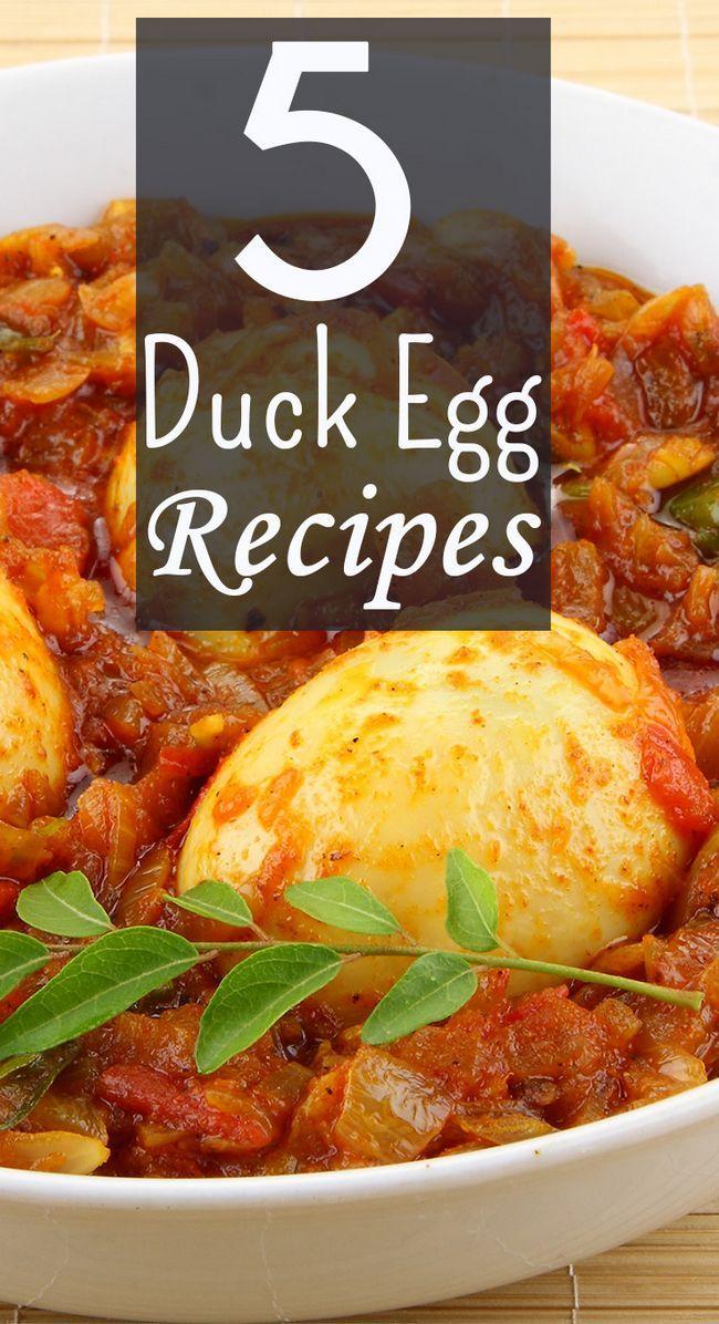 5 Yummy anka ägg recept att prova idag