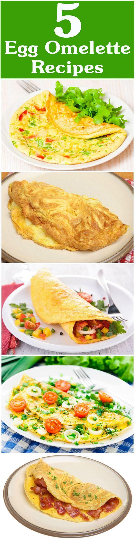 5 Yummy ägg omelett recept att prova idag
