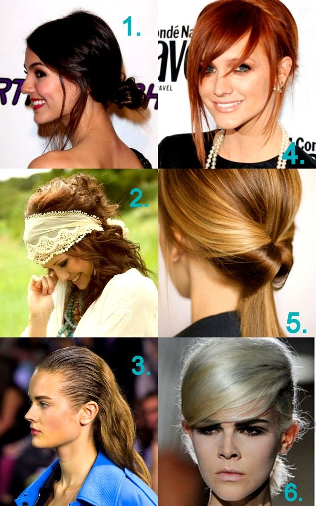6 hår trender du skulle vilja prova 2013