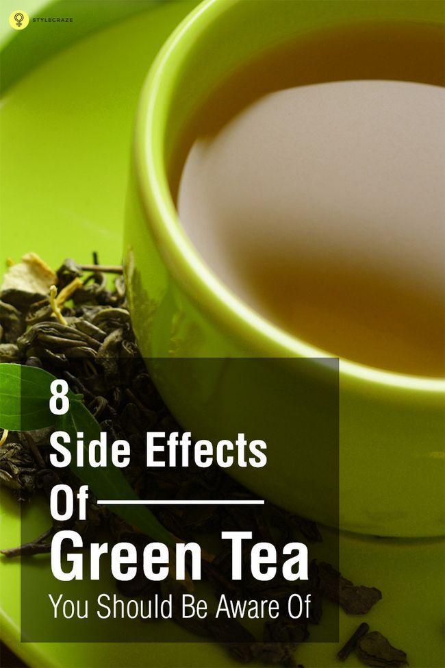 8 Biverkningar av grönt te du bör vara medveten om
