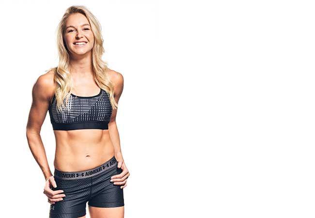 En dag i livet för vintern Olympian Danielle Scott