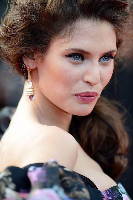 Bianca balti cannes 2012: klänning, smink, backstage video