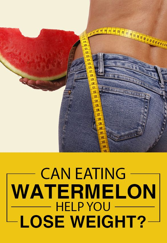 Kan äter vattenmelon hjälpa dig gå ner i vikt?