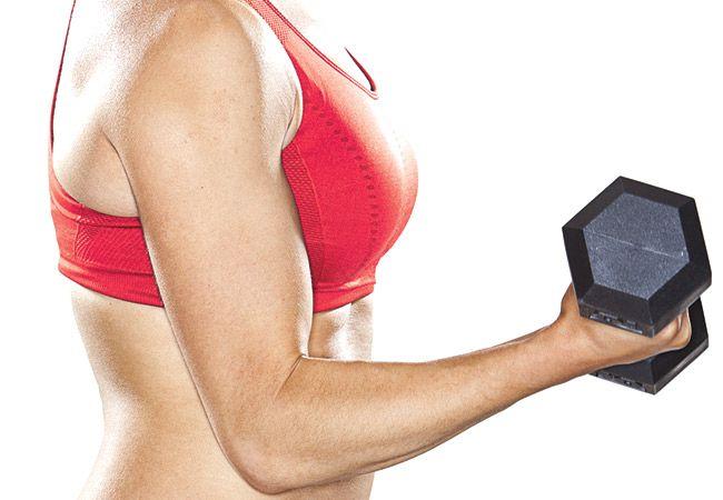 Kan styrketräning orsaka upp i vikt?