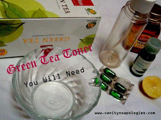 Gör det själv: grönt te toner (stegvis bild handledning)
