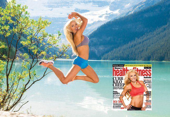 Holly Barker omslag modell hemligheter