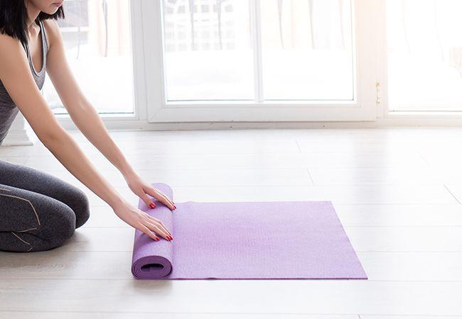 Hur skapa den perfekta yoga utrymme