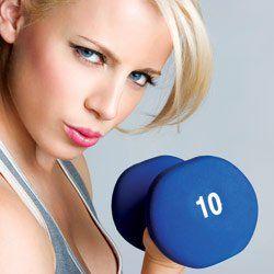 Hur man lyfta vikter utan att gå upp i vikt