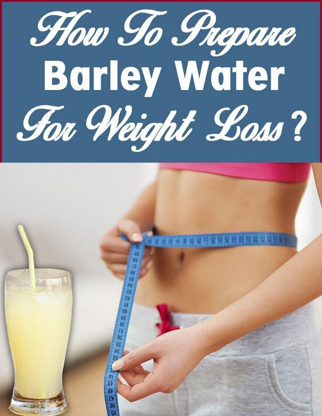 Hur man förbereder korn vatten för viktminskning?
