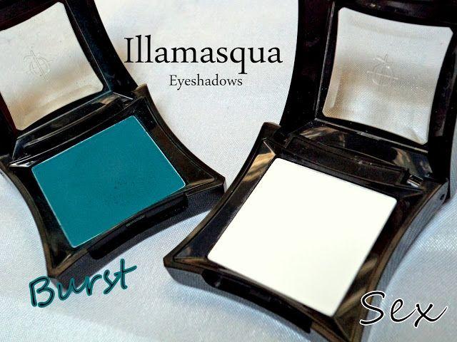 Illamasqua sex ögonskugga recension, färgrutor + 6 sätt att använda en matt vit ögonskugga
