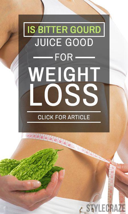 Är bitter jättepumpa juice bra för viktminskning?