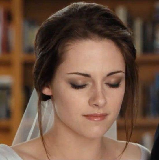 Kristen Stewarts brud makeup i Breaking Dawn (del 1)