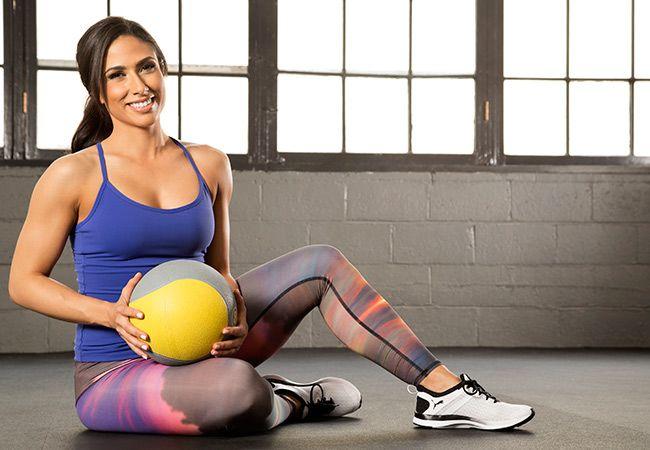 Medicin boll träning