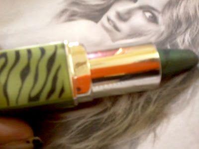Oriflame Beauty kajal öga liner- grön djungel granskning och färgrutor
