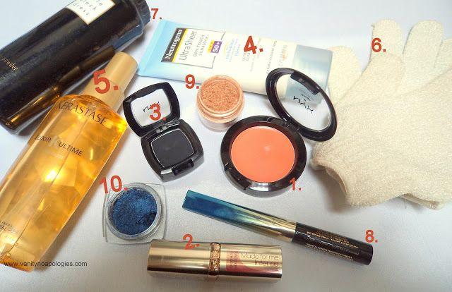 De mest använda skönhetsprodukter? - april och maj 2012