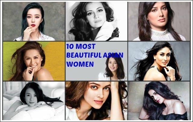 Topp 10 vackraste asiatiska kvinnor 2016
