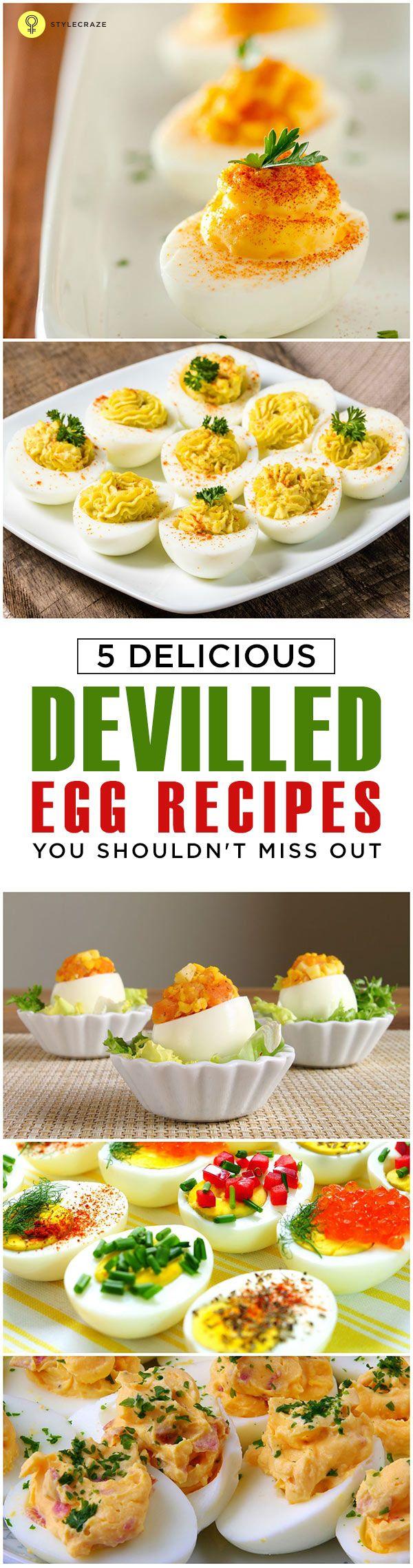 Topp 5 fyllda ägg recept att prova idag