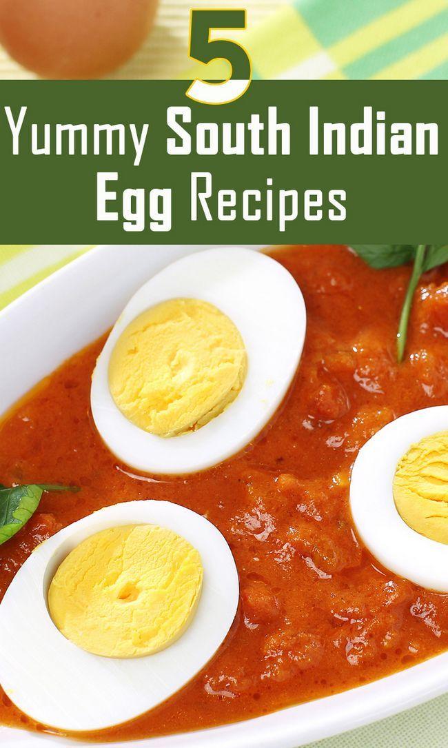 Topp 5 smaskiga södra Indiska ägg recept att prova