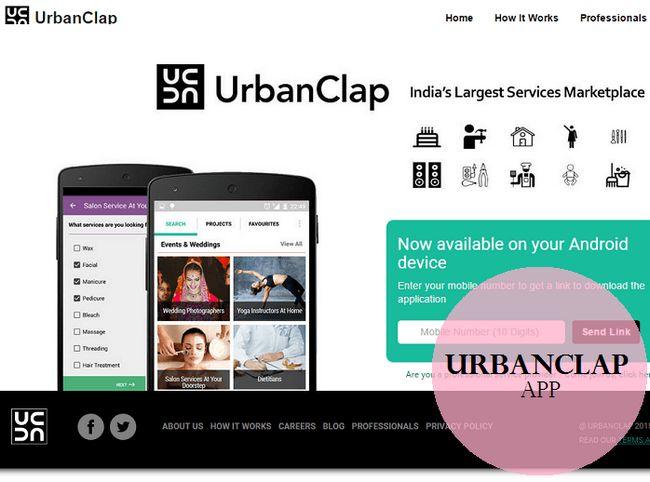 Urbanclap app handledning: hur gör ditt liv lätt