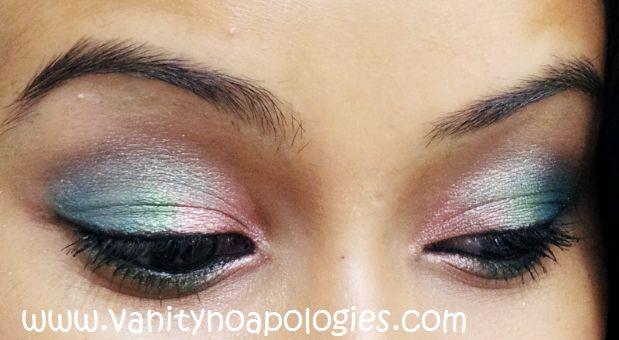VNA L`Oréal Paris sommar ögonmakeup tävlings 1 - sockervadd ögon