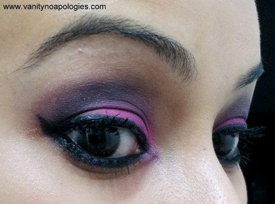 VNA L`Oréal Paris sommar ögonmakeup tävlings 13 - en studie i fuschia