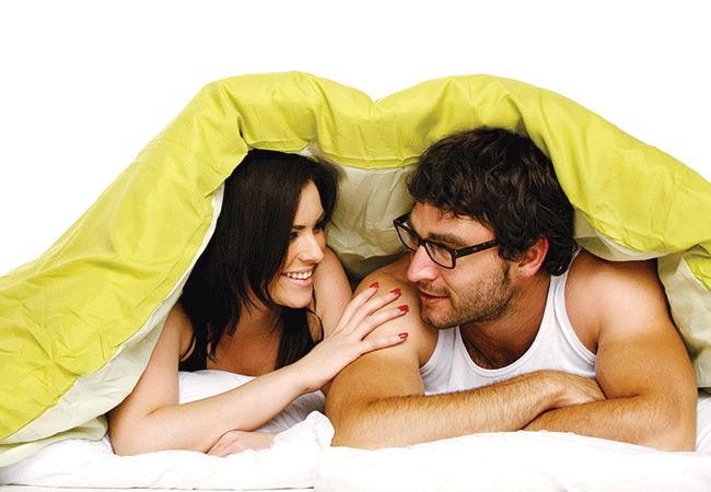 Vad gör din sovande stil säga om din relation?