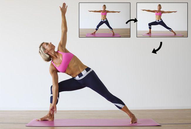 Yoga kopplad till fettförbränning